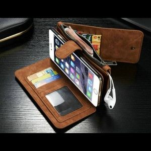 Accessories - iPhone 6 Leather Wallet Case